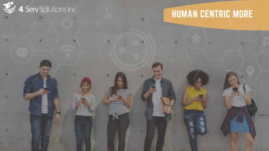 Digital Transformation is more human centric